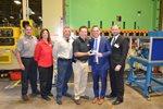 Rep. Adam Neylon receives award at Waukesha® Metal Products